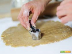 Biscotti alle spezie con crema di ricotta