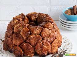 Sweet monkey bread alla cannella
