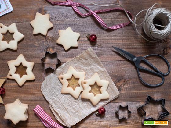 Biscotti di vetro natalizi golosi