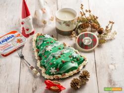 Torta Albero di Natale al profumo di menta