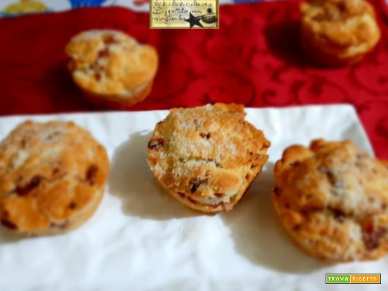 Muffin Speck e Parmigiano in Friggitrice ad aria e Forno Tradizionale.