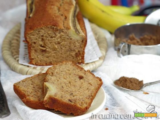 Banana bread senza burro e lattosio