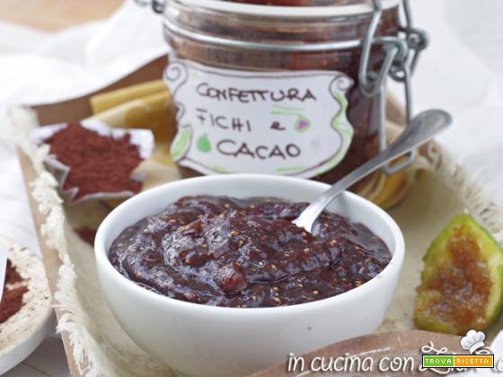 Confettura di fichi e cacao