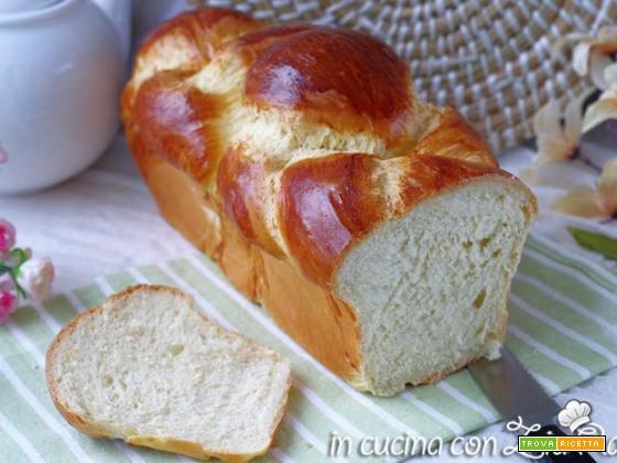 Pan brioche soffice senza lattosio