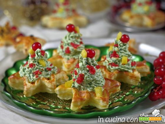 Alberelli di mousse – Antipasto di Natale