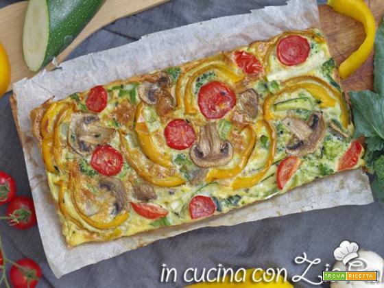 Frittata autunnale al forno – ricetta light