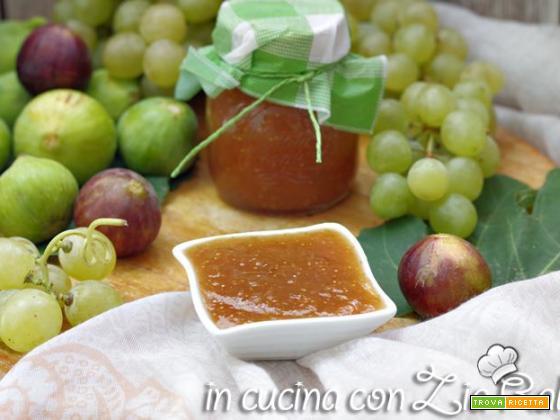 Confettura di fichi e uva – conserva dolce