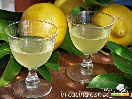 Limoncello – ricetta di Sorrento