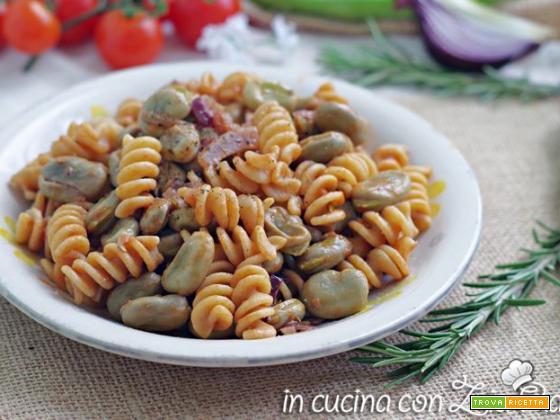 Pasta fave e rosmarino – primo piatto light