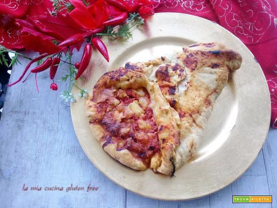 Cornucopia di pizza senza glutine