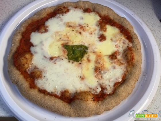 Pizza alla napoletana versione integrale con Companion Moulinex