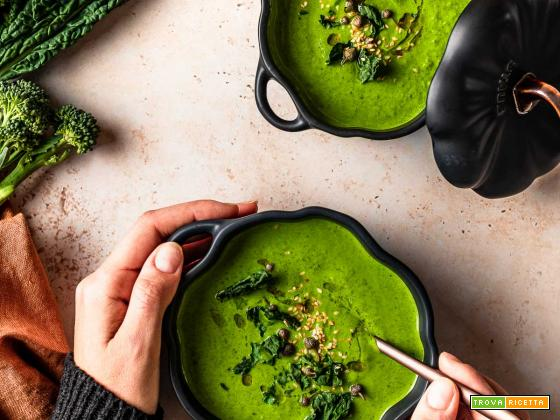 Crema di Broccoli Light Green Detox Broccoli Soup