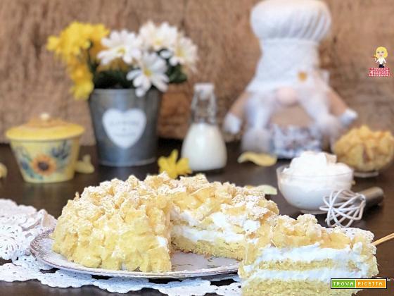 Torta MIMOSA classica facile