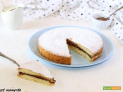 Torta soffice con ricotta e nutella
