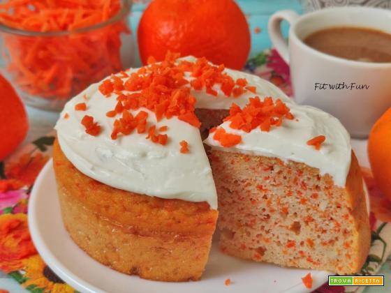 Torta Carote e Mandarino Senza Glutine Proteica
