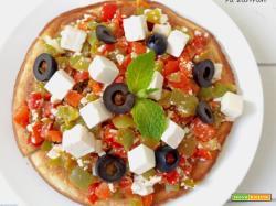 Pizza Veloce in Padella 3 Ingredienti Low Carb