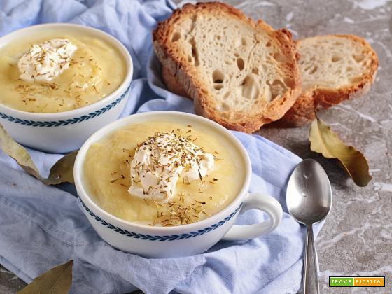 Potage Parmentier, la vellutata di patate alla francese