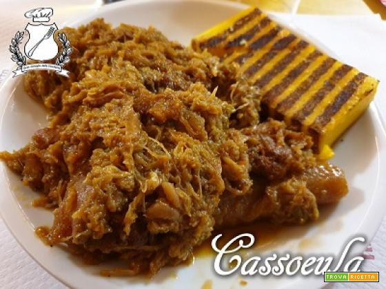 Cassoeula con polenta