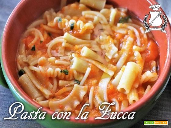 Pasta con la zucca alla napoletana (Pasta e Cocozza)