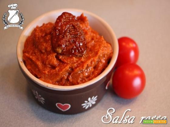 Salsa rossa di pomodori secchi
