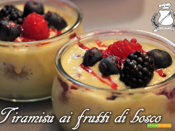 Tiramisu ai Frutti di Bosco