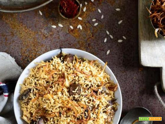 Mutton yakhni pulao (Pakistan)