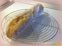 Baguette con farina di mais senza glutine