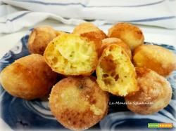 Bocconcini di mozzarella fritti senza glutine
