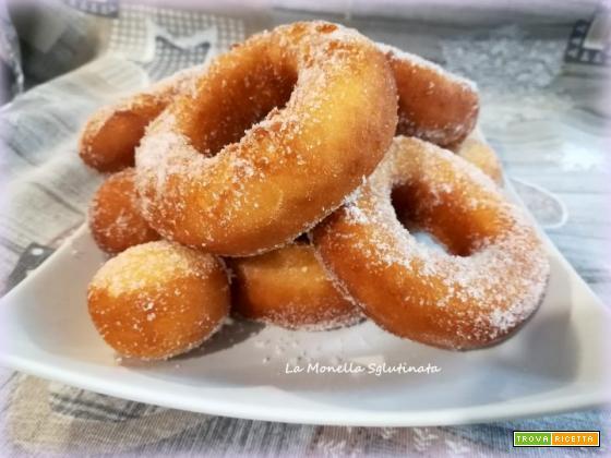 Bomboloni fritti senza glutine
