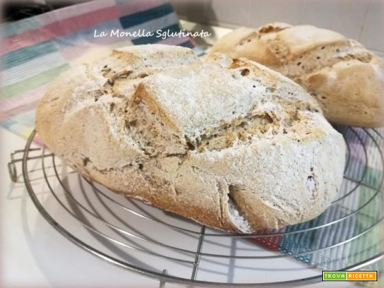 Ciabattine con farina di saraceno e riso