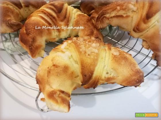 Croissant sfogliati veloci senza glutine