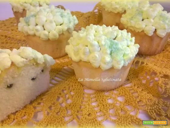 Cupcake alla vaniglia e frutto della passione