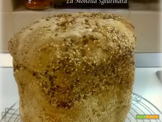 Pane con grano saraceno e mix di semi con mdp