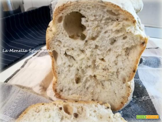Pane senza glutine con la MdP alle olive verdi