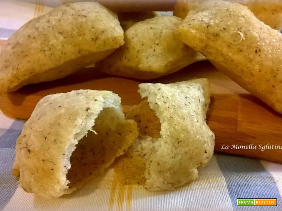 Panzanelle di farina di grano saraceno senza glutine