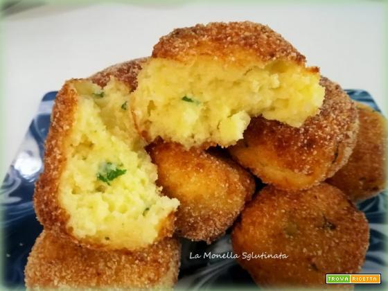 Polpette di pane e patate sglutinate