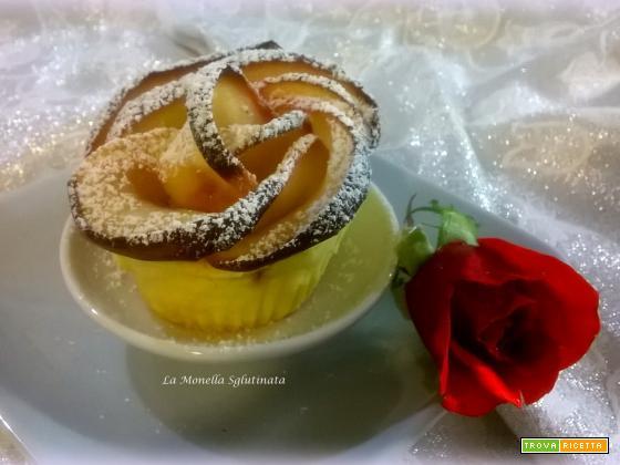 Rose di mele con farine naturali senza glutine