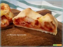 Rotolo di pizza farcito senza glutine