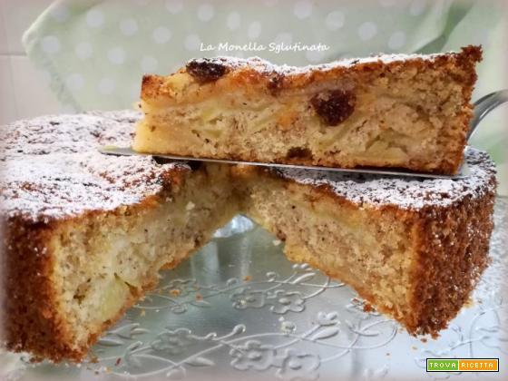 Torta rustica di mele al profumo di cannella
