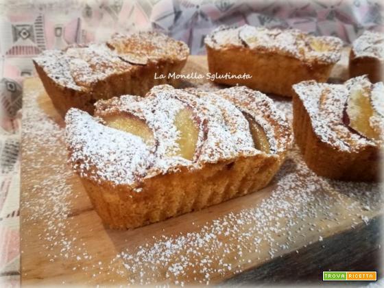 Tortini soffici di mele senza glutine
