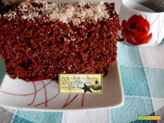 Cake Light al Cacao Con e Senza Bimby  Con Cottura al Microonde e Forno..