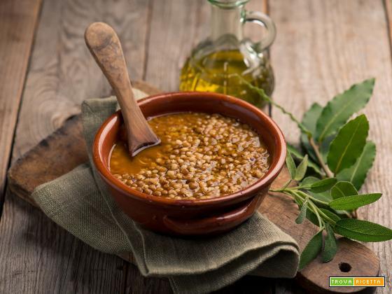 Zuppa di sorgo e lenticchie, un primo rustico e nutriente