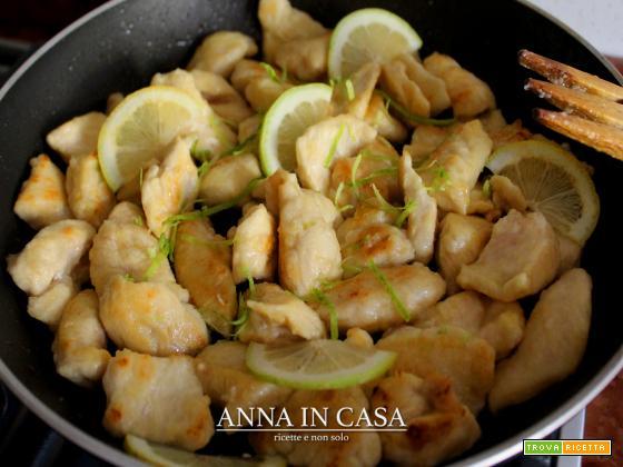 Bocconcini di pollo al limone - repost