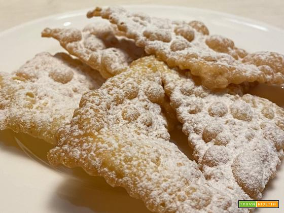 Bimby, Chiacchiere, Frappe, Bugie, Cenci, Crostoli