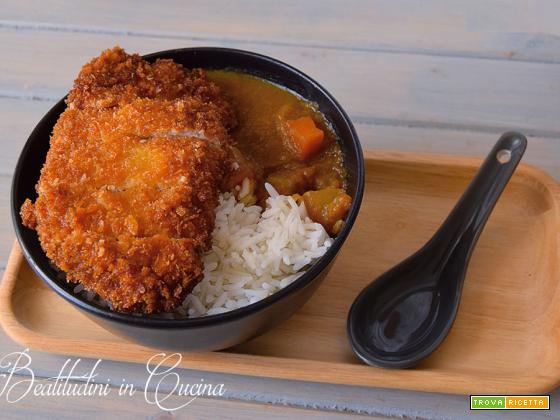 Katsukarē: la cotoletta giapponese con curry e riso