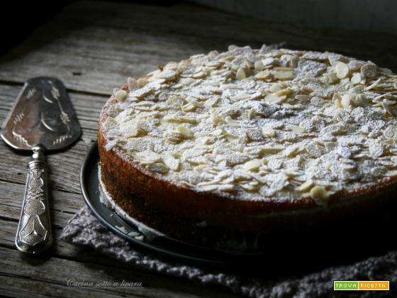 CHEESE CAKE COTTA CON GANACHE AL CIOCCOLATO BIANCO