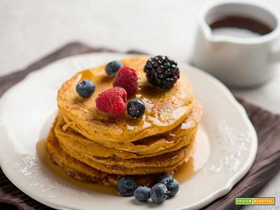 Pancakes di patate dolci, la variante del dolce americano