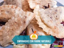 Empanadas con farine naturali