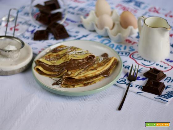 Jour des crepes vince il classico: crepe alla Nutella