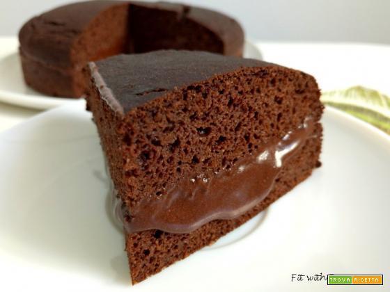 Torta Proteica e Senza Glutine Carrube e Cocco
